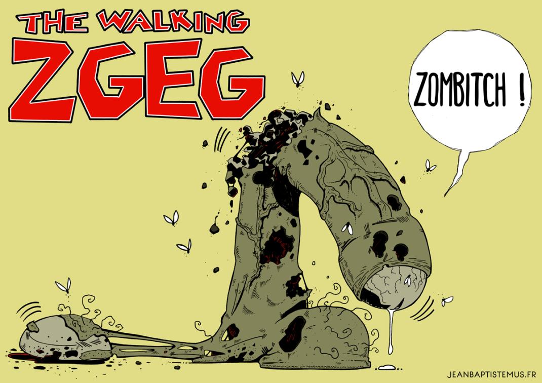 illustration the walking dead fan art the walking zgeg jb mus