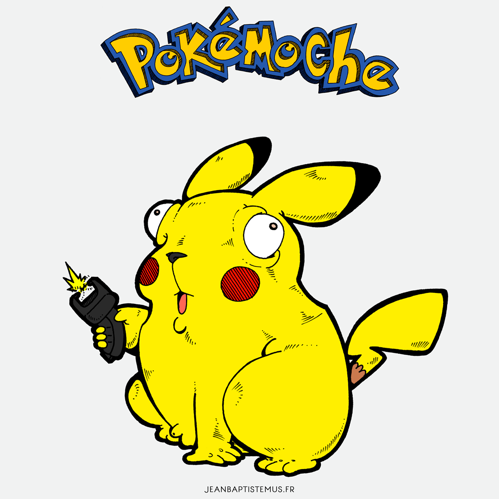pokemoche pokemon fan art pikachu jb mus