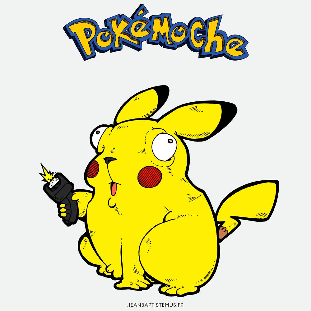 pokemoche pokemon fan art pikachu jb mus