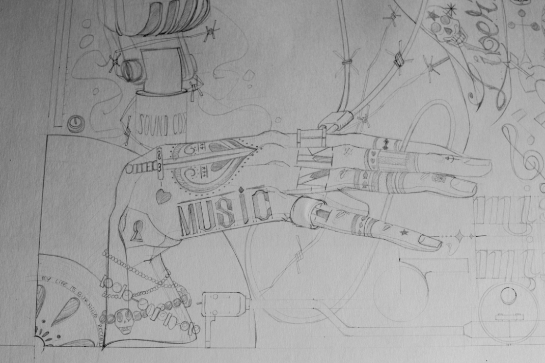 illustration music all you need is sound jb mus processus créatif 2