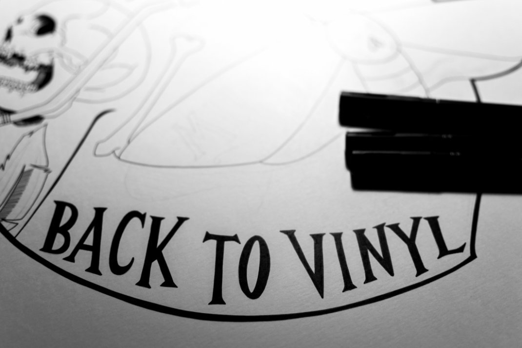 illustration music retro silencio back to vinyl jb mus processus créatif 10