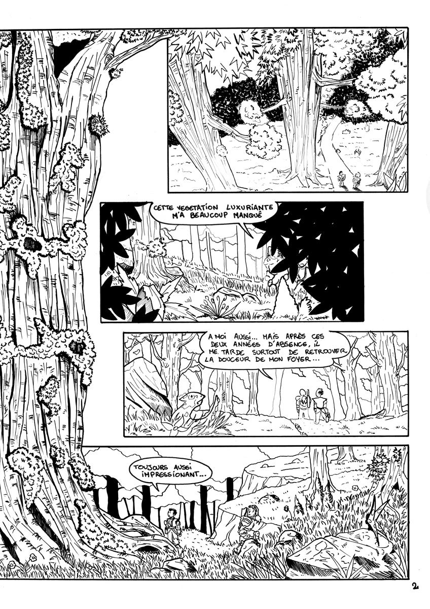 illustration bande dessinée Ascendancy illustrateur Jean-Baptiste MUS Toulon 02