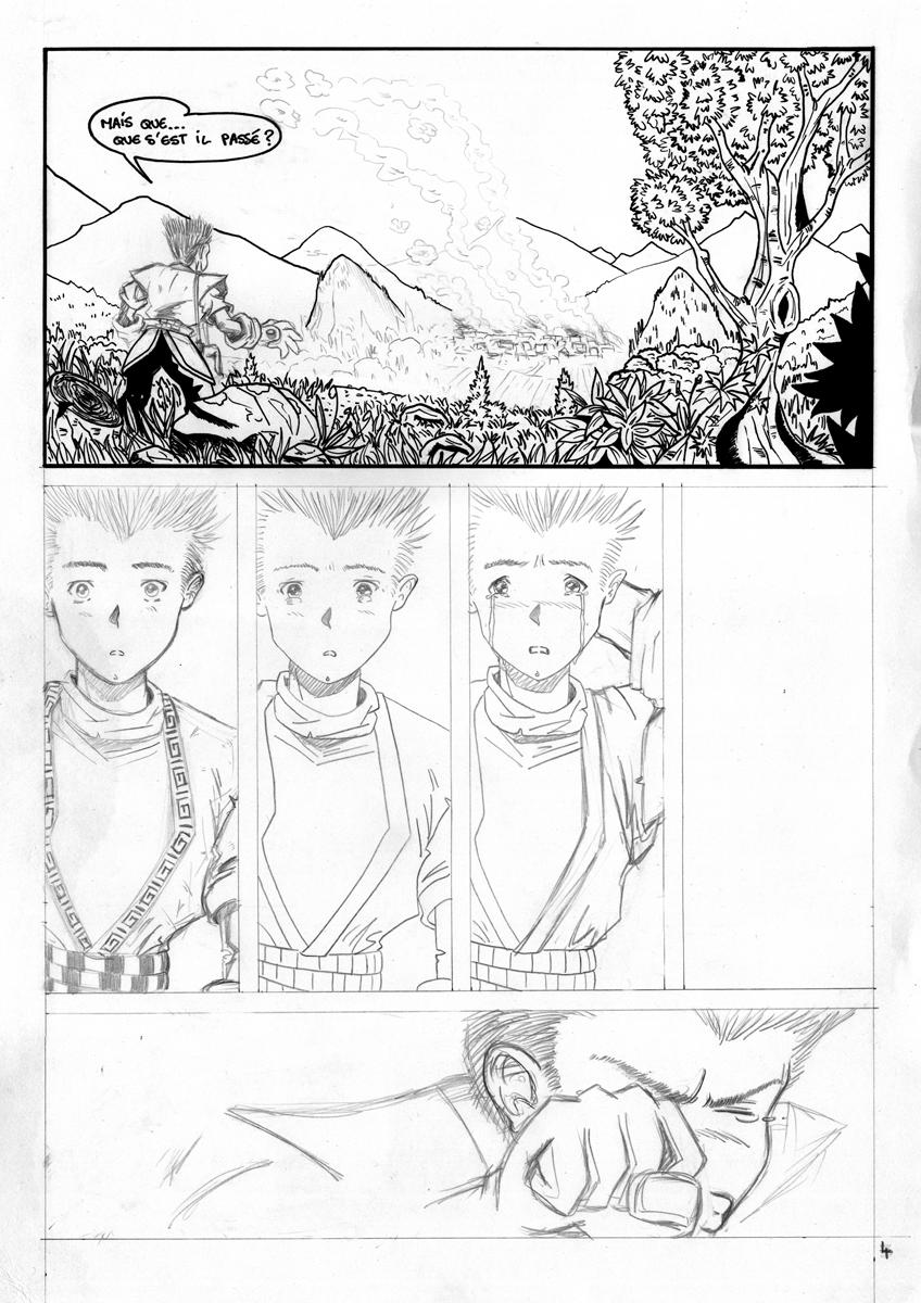 illustration bande dessinée Ascendancy illustrateur Jean-Baptiste MUS Toulon 04