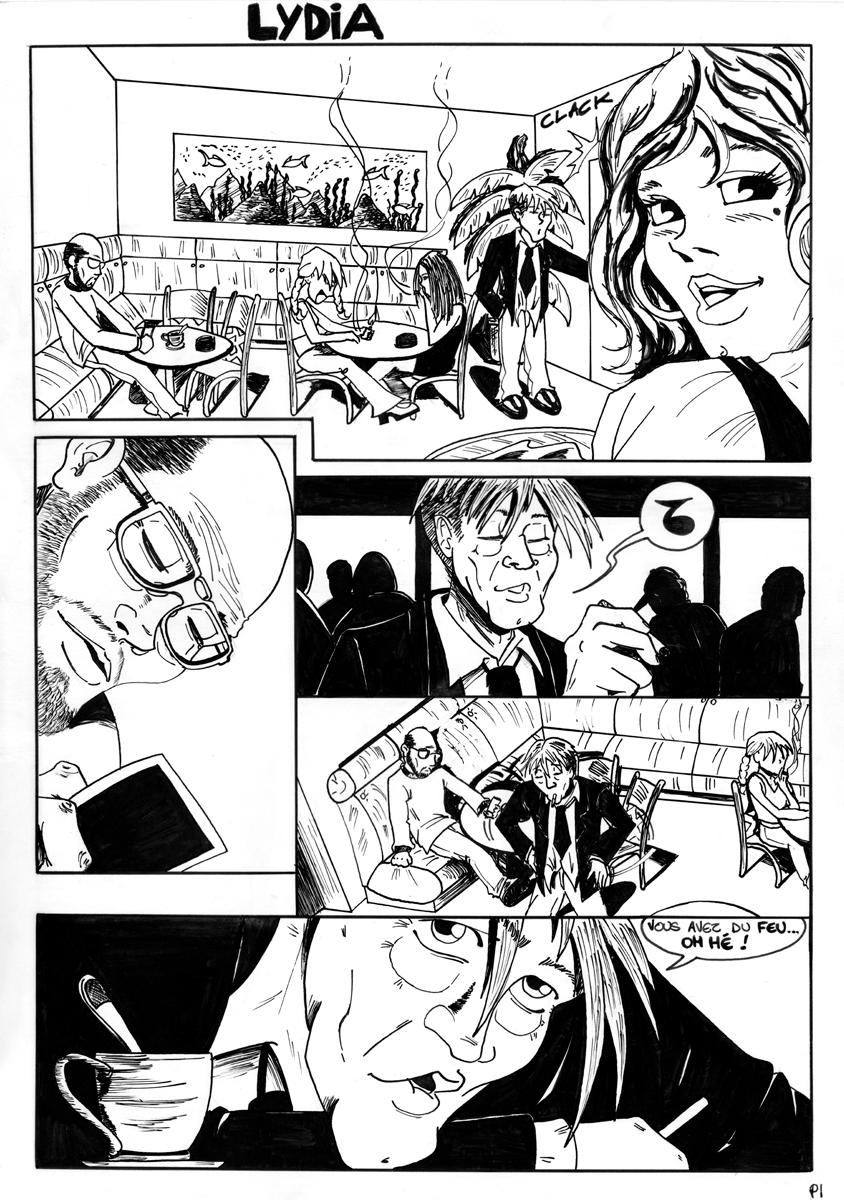 illustration bande dessinée lydia illustrateur Jean-Baptiste MUS Toulon 01